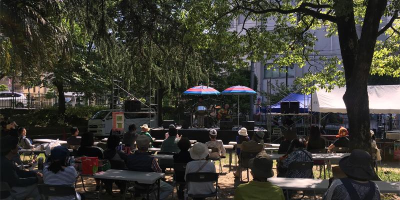 森の公園ステージ