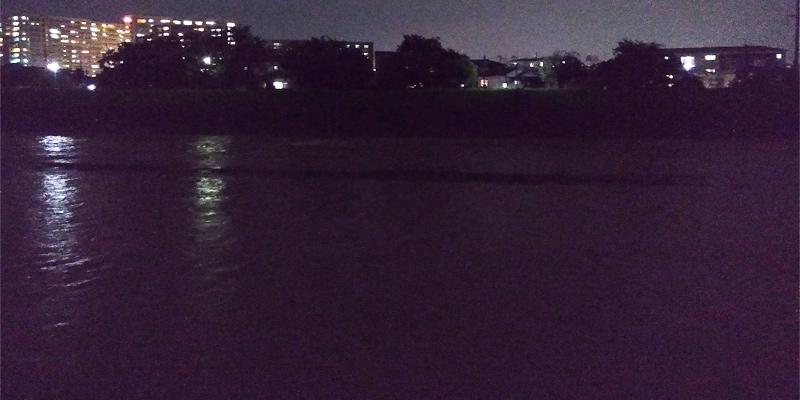 安威川の水位