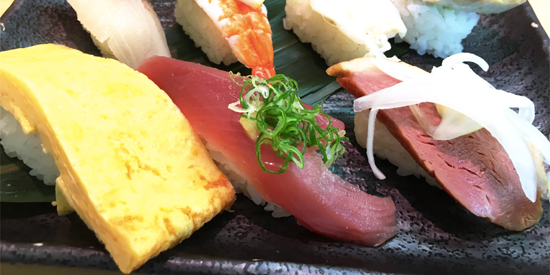 さんきゅう水産の大きいお寿司