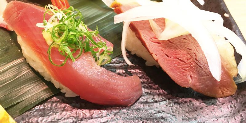 さんきゅう水産のネタの大きなお寿司