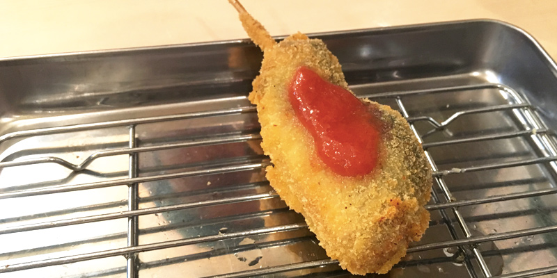 祇園囃子茨木店のサンマ梅肉のせ