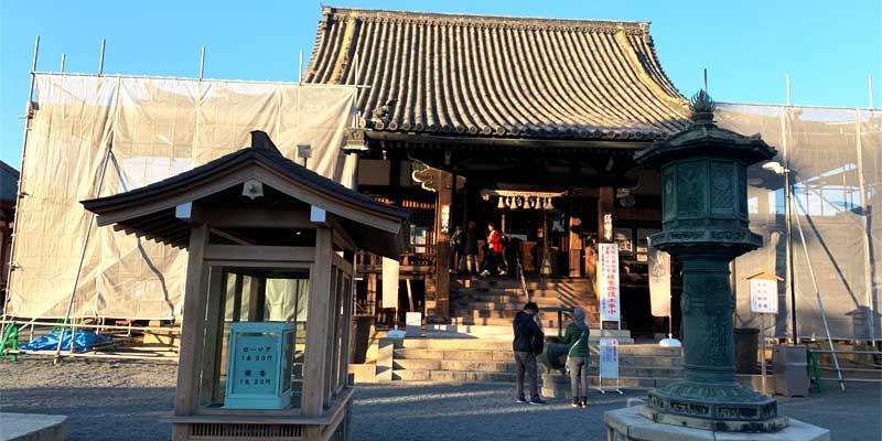 総持寺の本堂