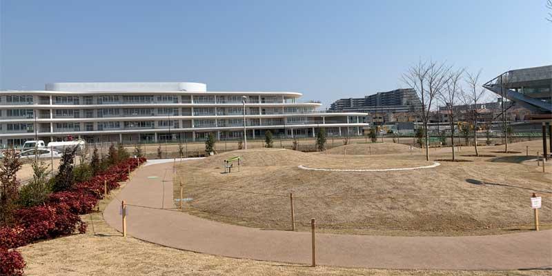 新キャンパスの隣も開発中