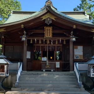 御神水の磯良神社(疣水神社)