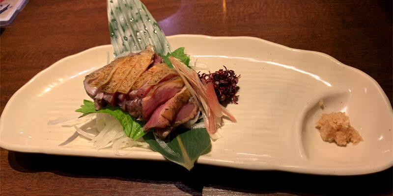 宮崎地鶏タタキ