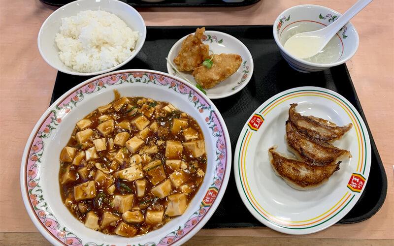 麻婆豆腐セット(850円)