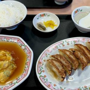 餃子セット(815円)