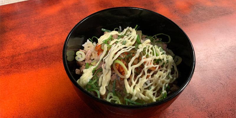 チャーシュー丼(小)