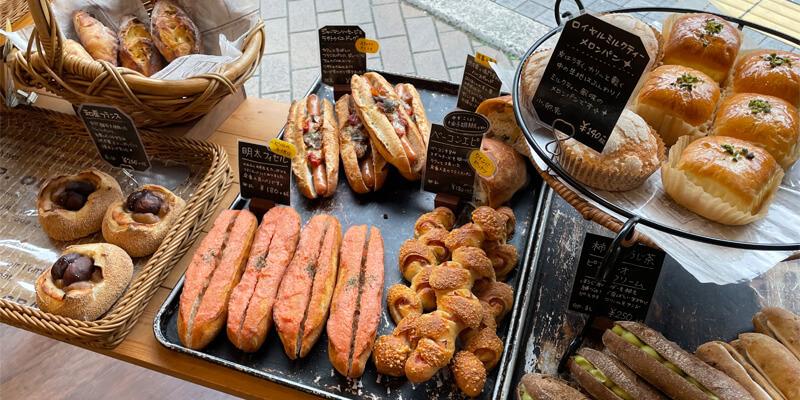 pan cuire(パンキュイール)のこだわりパン