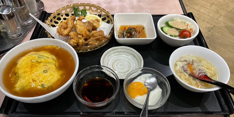 茨木市『中国飯店 宝来』お得な定食やセットメニューが食べれる中華料理店