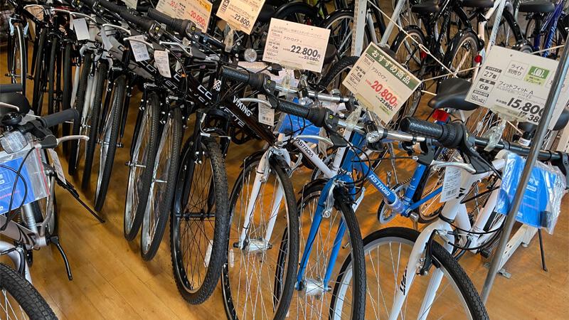 イオンバイク新茨木のクロスバイク