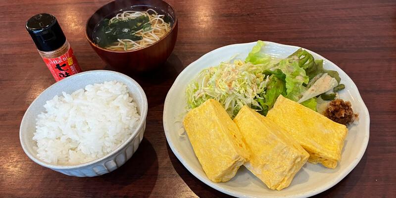 茨木市『佳肴ながつき』ランチのだし巻き定食がオススメ!ふわふわアツアツでおいしい!