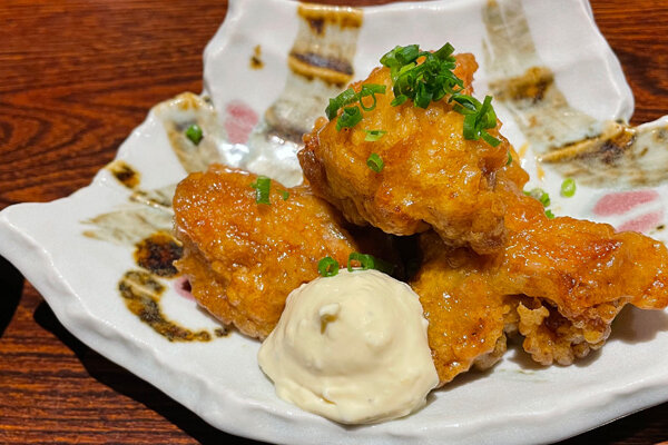 茨木市『鉄板焼酒場 おはな』絶品チキン南蛮ランチを頂きました!