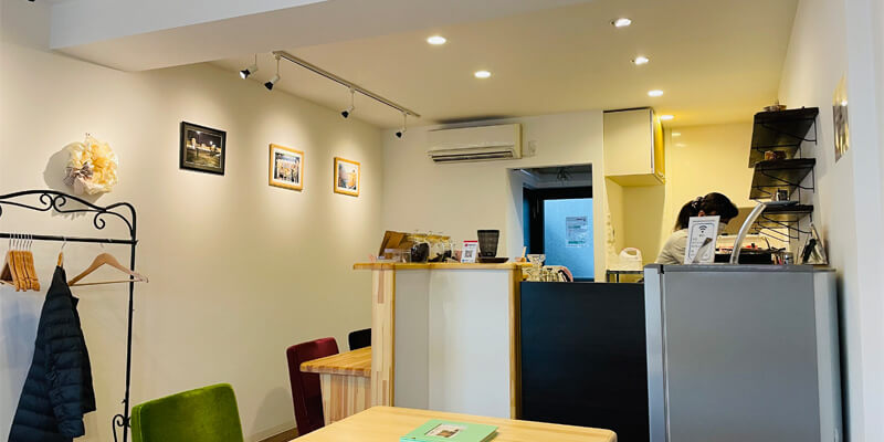 茨木市『うつわcafeハリス』和陶器の珈琲カップでおいしいコーヒーを楽しもう!