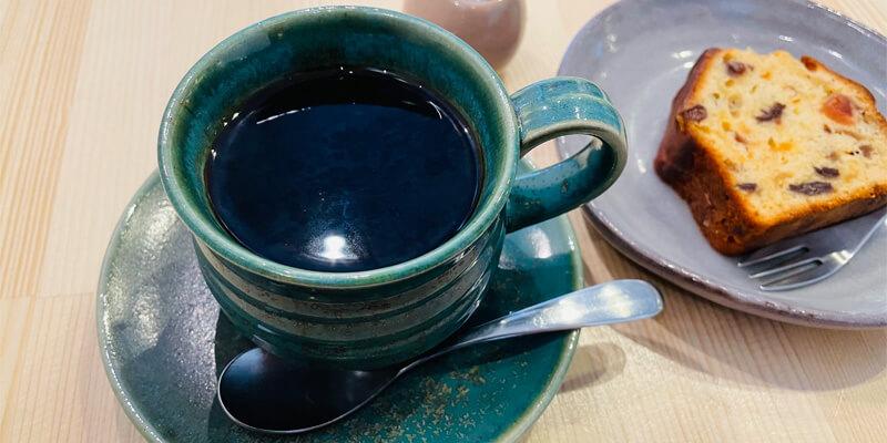 うつわcafeハリスのコーヒーと洋菓子