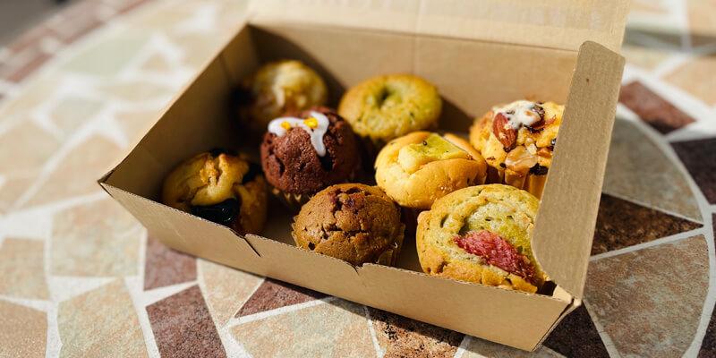 have a Nice Day Bake by OYATUYA.ISUのスタッフおすすめマフィンセット