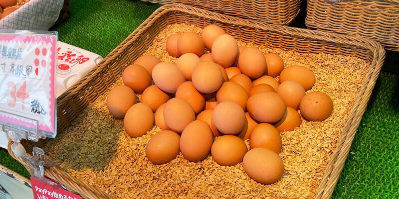 土岐鶏卵は1個から購入することもできます。