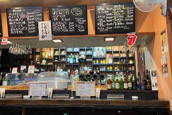 大人の食堂『キッチン・バル 治兵衛』JR茨木駅から徒歩3分の洋食系居酒屋