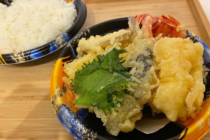 大盛海鮮天丼マウンテン 茨木のデラックス天丼