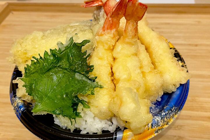 超大盛り!『大盛海鮮天丼マウンテン 茨木』デリバリーで天丼を楽しもう!